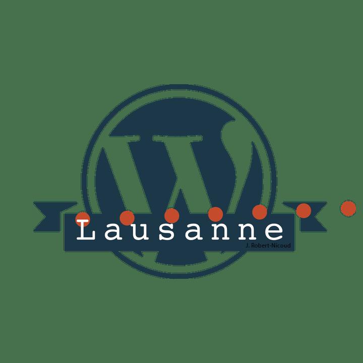 Logo du Wordcamp 2018 à Lausanne